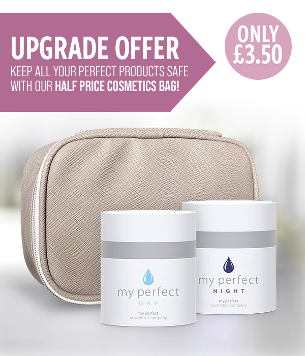 My Perfect Day + Night 50ml with Half Price Cosmetics Bag