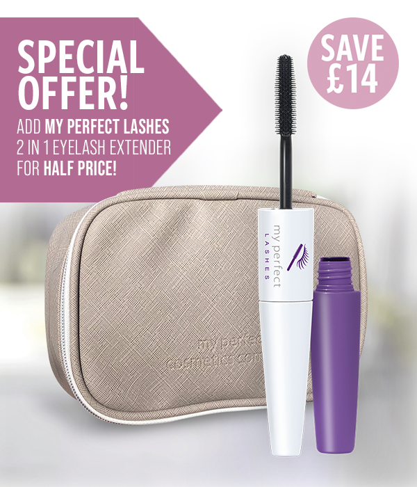My Perfect Cosmetics Bag with Half Price Lashes